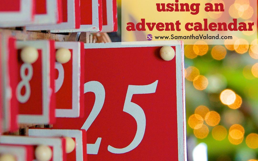 How to create a healthy habit using an advent calendar