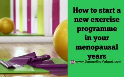 How to start a new exercise programme in your menopausal years