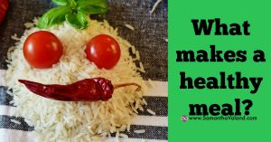 What Makes A Healthy Meal