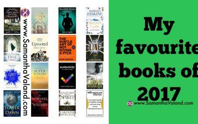 My Favourite Books in 2017