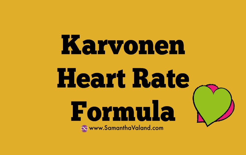Karvonen Heart Rate Formula