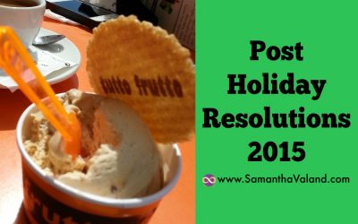Post Holiday Resolutions 2015