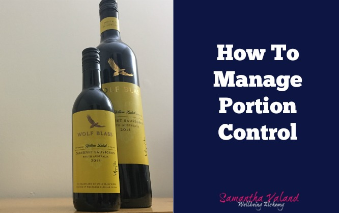 How To Manage Portion Control