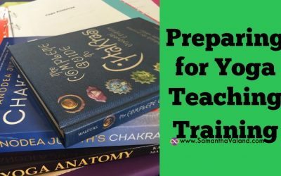 Preparing for Yoga Teaching Training