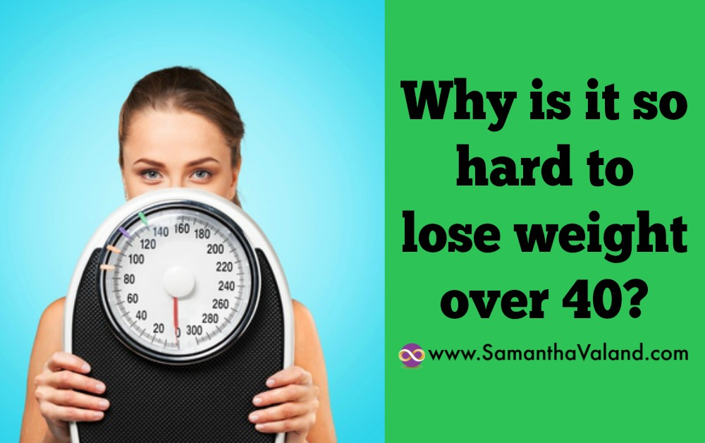Why is it so hard to lose weight over 40?