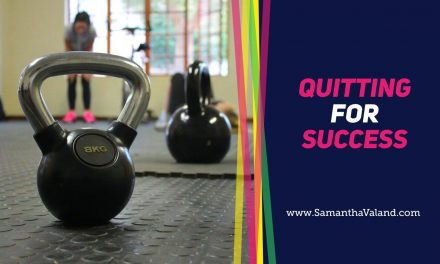 Quitting for Success